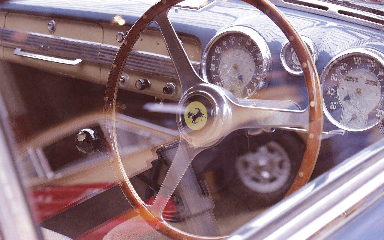 oldtimer, ferrari, auto